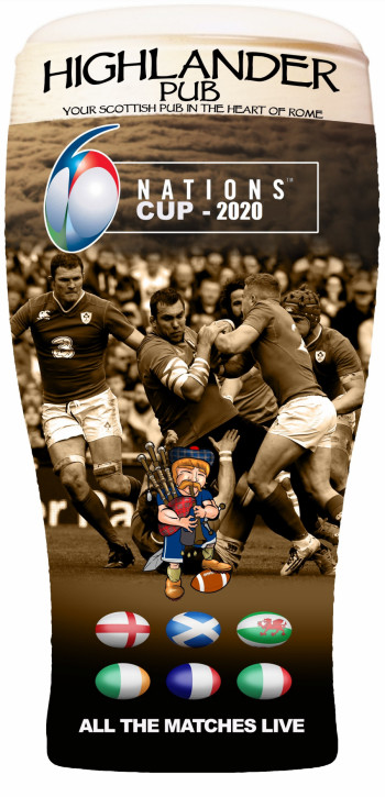 Rugby Six Nations Cup 2020